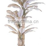artificial bonsai tree artificial leopard print banana plantain fake trees