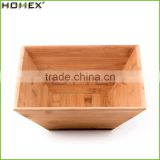 Bamboo fruit salad bowl /serving bowl for kitchen Homex-BSCI