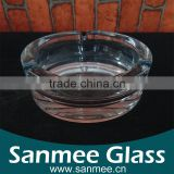 Thick Bottom Glass Outdoor Cigar Ashtray