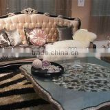 Latest design style hotel sofa sets & tea table BG90443