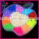 Wholesale DIY Toys Children Funny Puzzle Non-toxic Eco-friendly Plastic 5mm Mini Hama Perler Beads