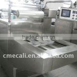 full automatic plastic tray sealing machine with MAP and Vacuum