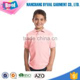 Kid Polo Shirts Custom Tennis Sports Shirt Mercerized Cotton Lycra Luxury tshirts Custom Wholesale School Team Uniform