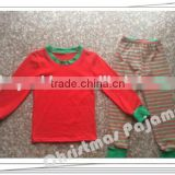 Christmas Fall 2015 Winter ruffle set baby kids sleeping clothing set giggle moon remake Persnickety sets stripe pajamas outfits