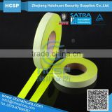 colour high visibility competitive polyester/cotton reflective tape