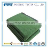Yintex Good Quality Polyester And Wool Blends Army Military Blanket