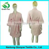 5 colors wholesale 100 cotton terry bath robe