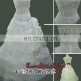 EB720 Classic two pieces Handing flowers Wedding dress fishtail long train bridemaid dress