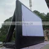 cheap giant outdoor advertising Inflatable movie screen