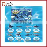 8 kinds mix Kids assemble education sea animal toys
