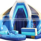 Guangzhou TOP inflatable water pool slide small water slide for swimming pool