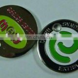 2015 high quality custom design shopping trolley coin, factory directly hot promotion cheap key ring