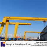 China HSHCL high quality 5 to 32 ton single girder semi shop gantry crane for sale