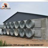 Cyprus Selling Poultry Farming Equipment Exhaust Fan & Ventilation System & Air Cooler/Air Heater in Poultry & Livestock Farm
