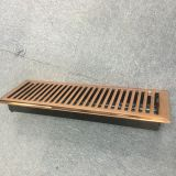 iron ventilation floor air grille and registers hvac system