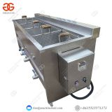 Banana Chips / Legumes Automatic Chips Frying Machine 50 Kg/h