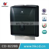China Factory Price ABS Plastic Black Multi N-Fold Hand Towel Paper Dispenser Toilet Tissue DispenserCD-8228B