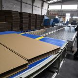 Flexible Cardboard Logistics System For Corrugated Cardboard Production Line | PLC Control