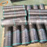 Weed control mat Fabric Ground Cover Garden Mat to prevent weeds from factory direct sales