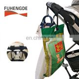 Custom Baby Car Carriage Baby Stroller Accessories for Hanging Diaper/Shopping Bags Purses and More