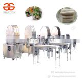 Factory Price Automatic Samosa Crepe Spring Roll Making Machine Production Line Automatic Lumpia Machine