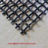 High Carbon Steel Vibrating Screen Mesh / Crimped Wire Mesh for Mining