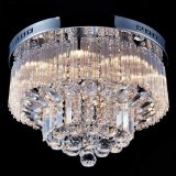 Hot Saled LED Crystal Chandelier crystal ceiling Lamp for living room and dining room 6017