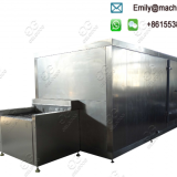 Cut Vegetable Mix IQF Blast Freezer Commercial