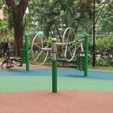 Exercise  leg message equipment outdoor fitness park fitness machines
