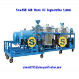 Sino-NSH GER series oil recycling for used black oil