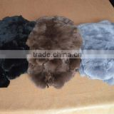 wholese real rabbit fur fabric