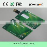 custom credit card usb for business promotion, free logo printing business card usb flash drive