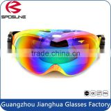 Custom sport equipment promotion snow goggles UV protective skiing safety goggle