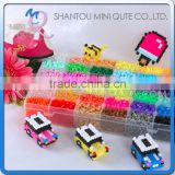 Mini Qute Kawaii DIY 12000 PCS Ironing Hama Perler Beans 3D Jigsaw building block educational toy (Accept OEM) NO.ET10F