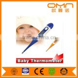 Electronic mini armpit thermometer pen clinical FDA approved digital thermometer mercury free baby body basal thermometer