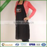 2014 Brand design durable black/custom cooking apron,pvc children painting apron