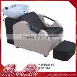 Beiqi Guangzhou Hot Sale Used Hair Salon Equipment, Back Wash Basin Unit Shampoo Chair for Sale