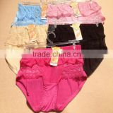 0.78USD 100% High Quality Mixing Colors Softy Material Fat Sexy Ladies Panties/Thongs/Lady Panty (lppgdnk051)