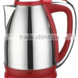 NK-K927 Kettle,red,electric kettle,1.8 liter,S/S body,color plastic,water heater