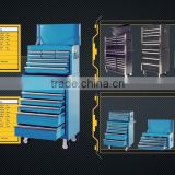 "59"" heavy duty cold rolled steel tool box with ball bearing slides cabinet and powder coating surface box"