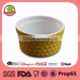 Wholesale Ceramic Stoneware Emboss Circle Baking Dish                                                                         Quality Choice