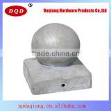 Top Sale 121x121mm Orbicular Shape Aluminum Fence Post Cap