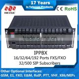 192 FXO/FXS Modules IPPBX Free sip phone Call voip pbx system,IVR services Voice Record                                                                         Quality Choice