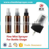 Good quality new design any color finger mist sprayer fine mist sprayer micro mist sprayer for bottle usage