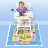 High quality fancy disposable placemat for baby crawling