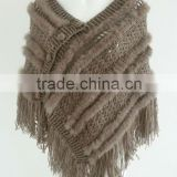 Rabbit fur shawl for women in 2013
