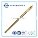 High quality spur point carbon titanium nitride coating wood spade drill bits