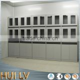 Wholesale glass door metal file cabinet laboratory steel cupboards