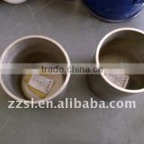 Tungsten crucible and molybdenum crucible for heating and melting
