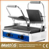 Commercial Electric Contact Grill Griddle Sandwich Press Panini Maker
